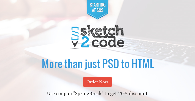 S2C is more than PSD to HTML